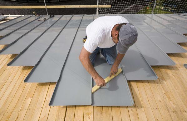 Les toitures en zinc 5fa ades for Feuille de zinc prix