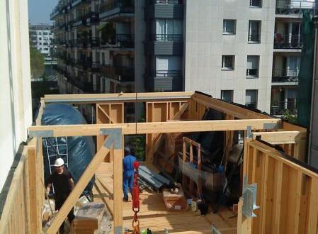 construction bois creuse