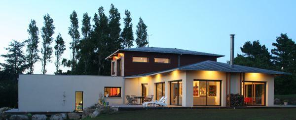 Maison en b ton cellulaire labellis e bbc effinergie 5fa ades - Maison en kit beton cellulaire ...