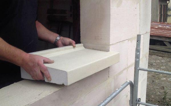 Contre les ponts thermiques l 39 appui de fen tre rupteur for Peinture pour appui de fenetre en beton