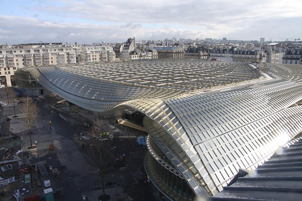 les halles de paris sous la canop e 5fa ades ForLa Droguerie Paris Les Halles