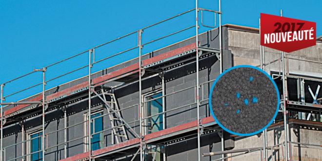 Polystyroldmmung auf Neubau