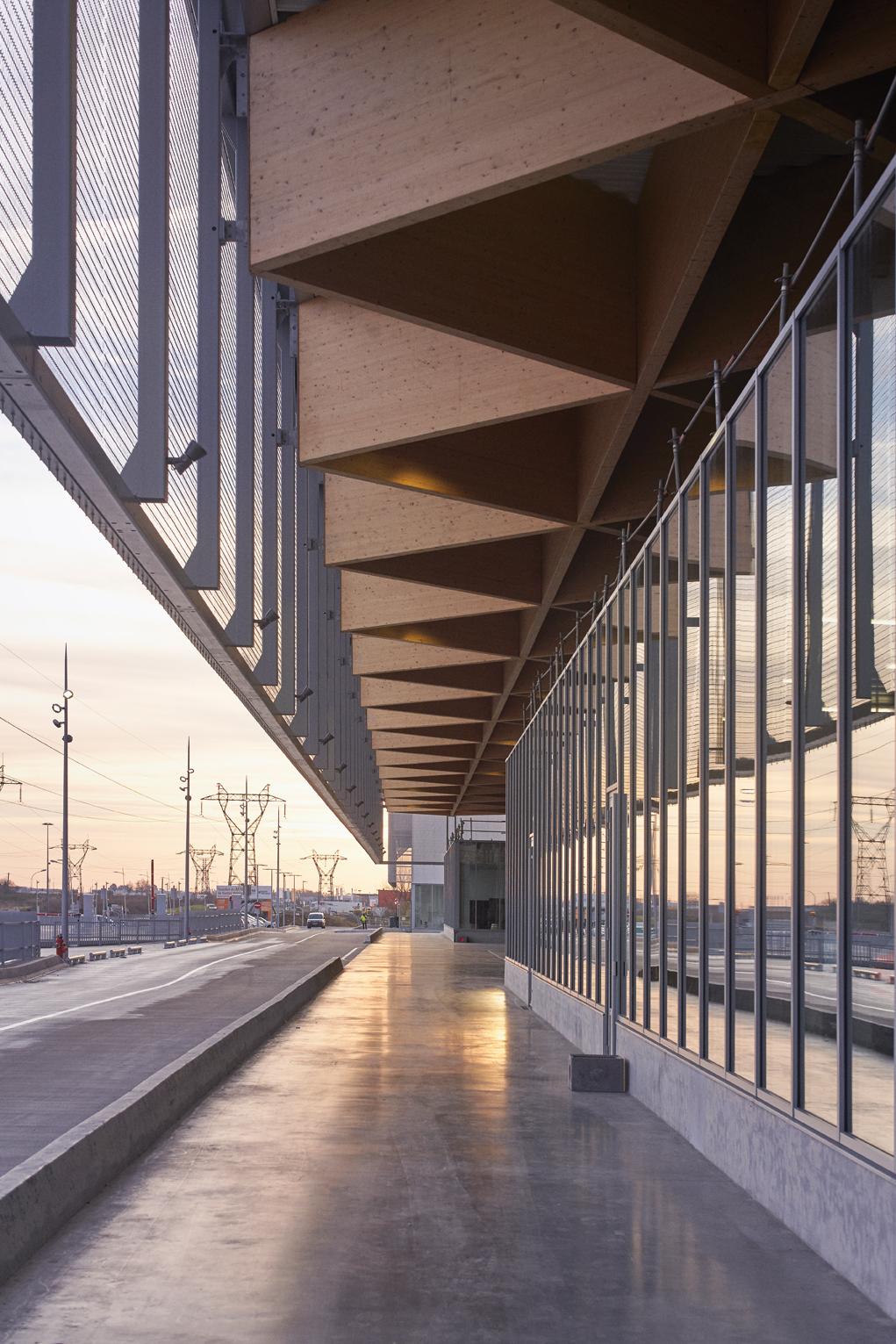 MIN de Nantes: des façades ouvertes intégrées à leur environnement