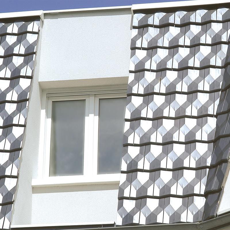 Habillez votre façade avec la Tuile DIAMANT Huguenot en Bardage